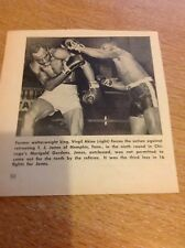 Ephemera Picture 1961 Boxing Virgil Atkins T J Jones Memphis