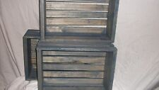 Wood Crates  New  Hand Crafted