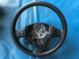 Rover 45 Black Leather Steering Wheel (Part #: QTB001460PMA XP)