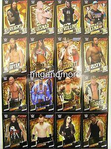 Slam Attax Then Now Forever - Alle 16 Champion Foil Karten aussuchen - #001-016