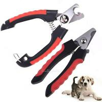 Pro Pet Nail Clipper Cutter Scissors Dog Cat Rabbit Toe Paw Grooming Claw Care