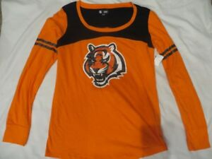 NFL Cincinnati Bengals Long-sleeved T-Shirt Women's Medium/M NWT!