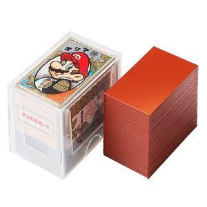 NINTENDO Super Mario Bros / Japanese Playing Cards / Hanafuda / Red