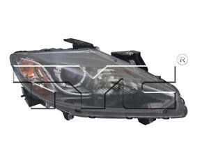 TYC Right Passenger Side Halogen Headlight for Mazda CX-9 2013-2015 Models