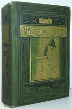 JULES VERNE The Mysterious Island FIRST COMBINED EDITION Kingston New York 1876