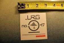 LRG Lifted Research Group Clothing Underground 47 Skateboarding Surfing STICKER