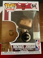Funko Pop Basketball! Michael Jordan Bronze Hobbiestock Exclusive #54