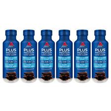 6x Atkins 400ml Low Sugar Plus Protein Healthy Shake Diet Drink Dark Chocolate