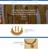 GOLD JEWELLERY Website Earn £185 A SALE|FREE Domain|FREE Hosting|FREE Traffic