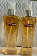 2 X Bath & Body Works Apricot Vanilla Fragrance Mist Body Spray Splash New 8 oz