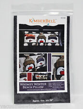 Kimberbell Whimsy Winter Bench Pillow KD164