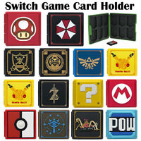 For Nintendo Switch Game Card Case Holder Storage Box Carry Protector Cover New