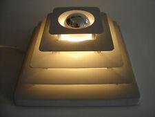 HUSTADT Wandleuchte 'PYRAMIDE' Wandlampe DECKENLEUCHTE Deckenlampe 1960er/1970er