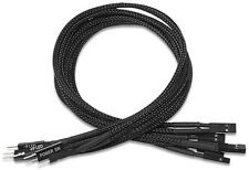 PQ501 Nanoxia Front-Panel Extension, 30 cm, Single Sleeve Cable