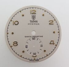.VINTAGE TUDOR OYSTER DIAL SUB SECOND GOLD BATONS NEW OLD STOCK