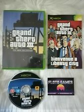 Jeu GTA 3 Grand Theft Auto 3 pour X-Box XBOX PAL Complet CIB - Floto Games