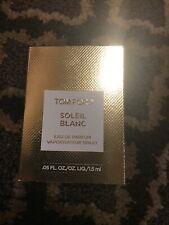 NEW Tom Ford Soleil Blanc Eau De Parfum Perfume 0.05oz 1.5ml Sample