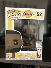 Funko Pop! Basketball NBA - LA Lakers Lebron James Yellow Outfit Special Edition