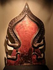 Asian Antique ~ Thai Panel for Buddha Figure ~ Buddhist 19th Thailand