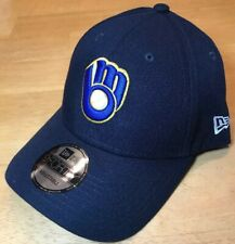 Milwaukee Brewers New Era 9FORTY MLB The League Adjustable Strap Hat Cap Glove