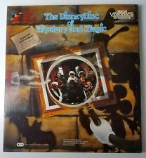 The Disney Disc of Mystery and Magic Mickey Mouse CED VideoDisc Vintage Movie