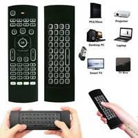 2.4G Wireless Air Fly Mouse Fernbedienung für Smart TV Box Android PC Neu