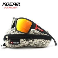 Kdeam Outdoor Sport Polarized Sunglasses Mens Cycling Bike SunGlasses Goggles