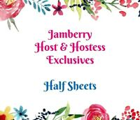 jamberry half sheets * host hostess exclusives he * buy 3, 15% off, NEW STOCK 🎁