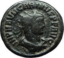 CARINUS Carus son Numerian brother 283AD Ancient Roman Coin JUPITER ZEUS i66301