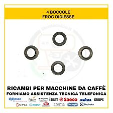 4 BOCCOLE FROG DIDIESSE ORIGINALI RICAMBIO MACCHINA DA CAFFè