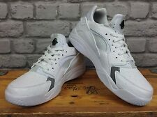 NIKE homme uk 8 eu 42.5 blanc AIR FLIGHT lo HAURACHE baskets rrp £ 85