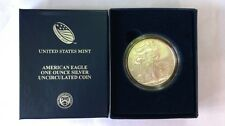 2012 BURNISHED AMERICAN SILVER EAGLE