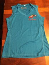 Women's Sleeveless Jersey/Shirt Santa Anita Derby Day 5K 2013 Blue Size XS - New