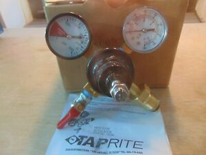Taprite 742n Dual Gauge Nitrogen Regulator cga580 N2-03C09-114