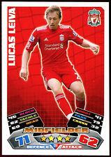 Lucas Leiva Liverpool #138 Topps Match Attax Football 2011-12 Trade Card (C208)