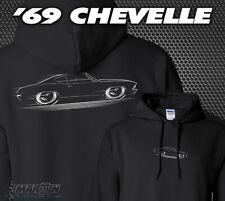 Hoodie '69 Chevelle - 1969 Chevy SS Super Sport Chevrolet Malibu