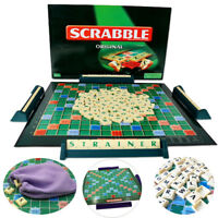 DE Hot Mattel Games Original Scrabble Compact Laying Games Jeux pour enfants Jou