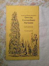 Growing Extraordinary Marijuana 1975 by Adam Gottlieb very good condition