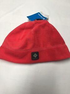 Womens COLUMBIA Pink Omni Heat Fleece Beanie Sz L/XL NEW NWT