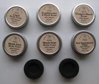 Resin Incense Tin W/ 2 Charcoal Tablets - Dragon's Blood - Myrrh - Free Shipping