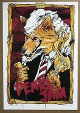 Pearl Jam - Sydney Poster 2006 Australian Tour - Eddie Vedder Kings Of Leon
