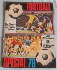 Football Special 79. Football Sticker Album. AVA Americana. Part-Complete.