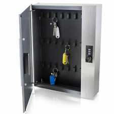 BITUXX® Schlüsselsafe Schlüsselkasten Schlüsseltresor 24 Schlüsselhaken Tresor