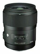 Sigma 35mm F1.4 DG HSM 'A' Art Lens in Nikon AF Fit (UK Stock) BNIB