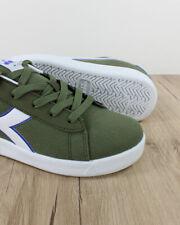 Diadora Scarpe Sportive Sneakers Verde Game GS Canvas Donna Bambino