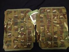 2X British Army Osprey MK4 /A Side Plate Pockets (NO ARMOUR) MTP NEW / UNISSUED