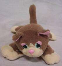 "Pound Purrries TAN KITTEN CAT 6"" Plush STUFFED ANIMAL Toy"
