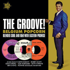 """THE GROOVE - BELGIUM POPCORN  """"BLENDED SOUL & R&B WITH EASTERN PROMISE"""" CD"""