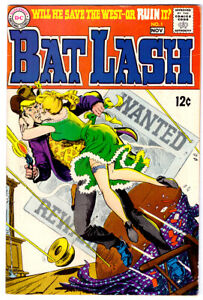 BAT LASH #1 in VF- condition 1968 Silver Age DC western comic - Nick Cardy cover