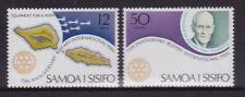 1980 Samoa 75th Anniversary Rotary International - MUH Complete Set